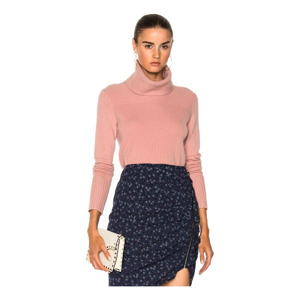 VERONICA BEARD Asa Turtleneck - 100% cashmere. Made in China. Dry clean only. Rib knit...