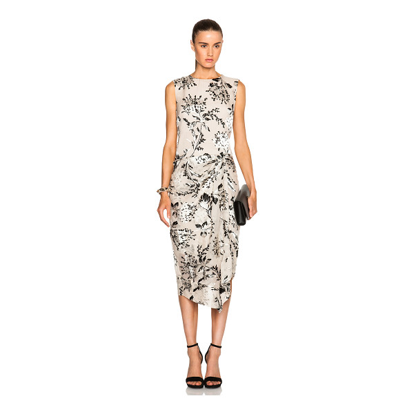 ZIMMERMANN Fortune Burnout Dress - Self: 70% silk 30% viscose - Lining: 100% poly.  Made in...