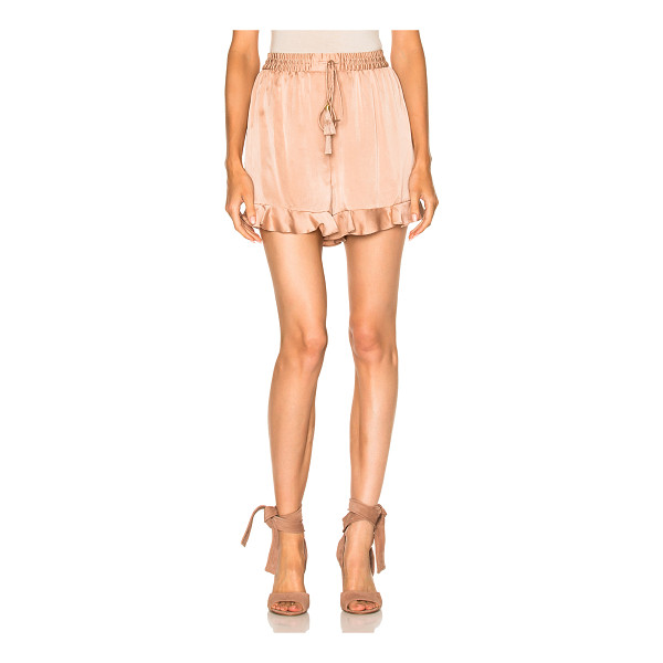 ZIMMERMANN Sueded Flutter Short - Self: 100% silkLining: 100% poly. Made in China. Dry clean...
