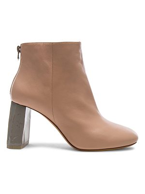 ACNE STUDIOS Leather Claudine Booties
