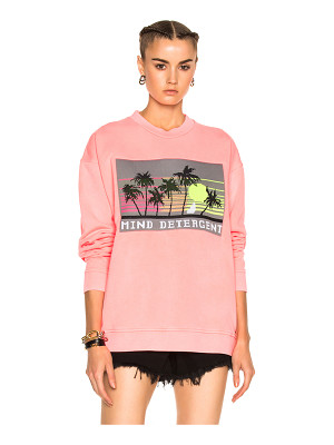 ALEXANDER WANG Oversized Sweatshirt With Knit Patch