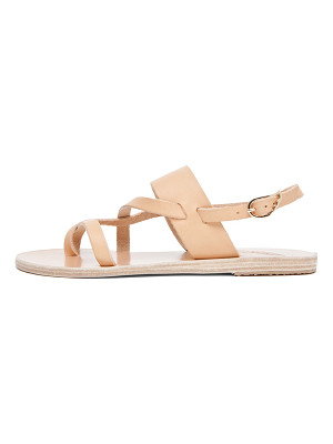 Ancient Greek Sandals Alethea Calfskin Leather Sandals