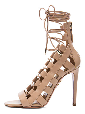 AQUAZZURA Amazon Leather Heels