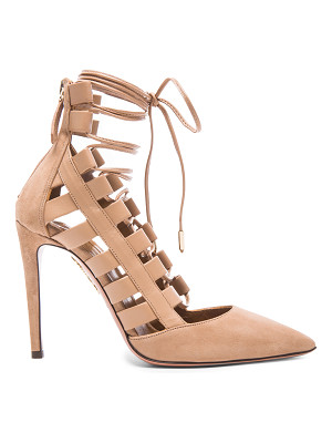 AQUAZZURA Amazon Suede Pumps
