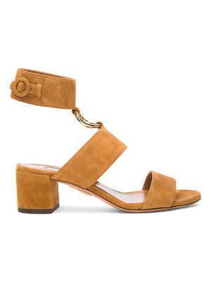 Aquazzura Suede Safari Sandals