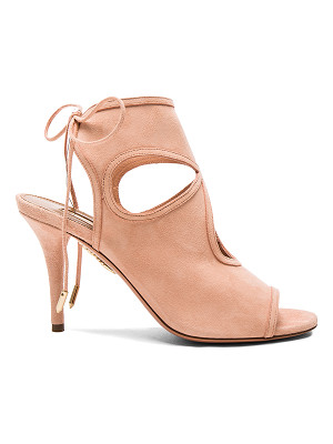 Aquazzura Suede Sexy Thing Heels