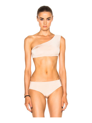 LITTLE MISTRESS Rose Gold Metallic Bikini Set