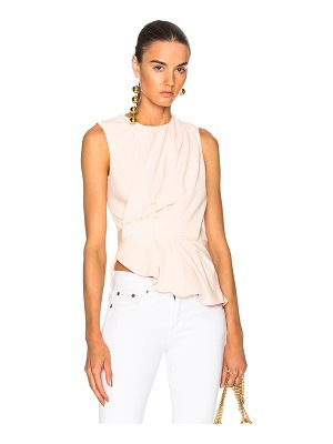 CARVEN Drape Sleeveless Top
