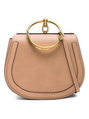 Chloe Medium Nile Calfskin & Suede Bracelet Bag