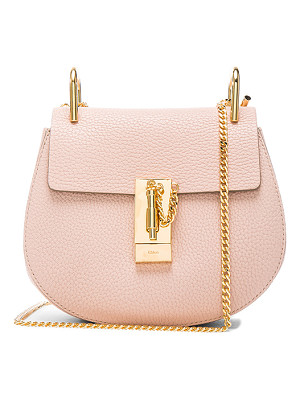 CHLOE Mini Drew Leather Shoulder Bag