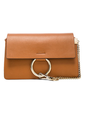 CHLOE Small Faye Grained Calfskin Shoulder Bag