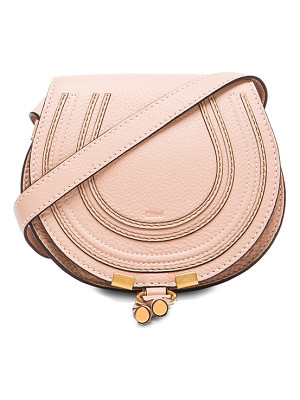 CHLOE Small Marcie Grained Calfskin Saddle Bag