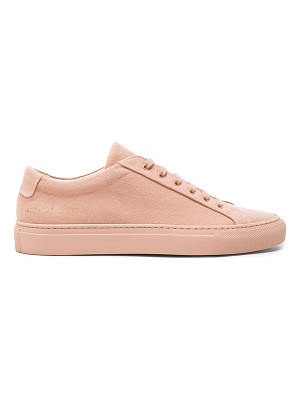Common Projects Canvas Achilles Low