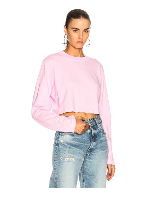 COTTON CITIZEN Tokyo Long Sleeve Crop Tee