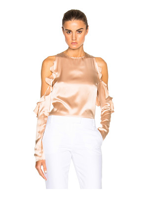 Cushnie et Ochs Cut Out Shoulder Top
