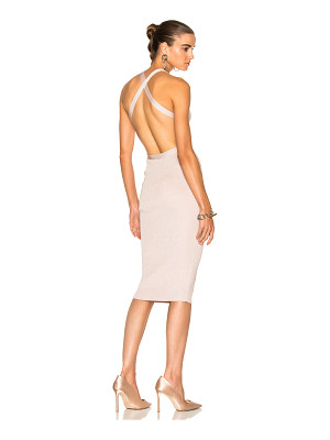 Cushnie et Ochs for FWRD Knit Pencil Dress With Crisscross Straps