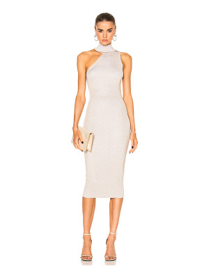 Cushnie et Ochs One Shoulder Mock Neck Pencil Dress