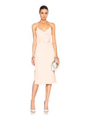 Cushnie et Ochs Silk Crepe Dress