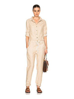 ENZA COSTA Long Sleeve Jumpsuit