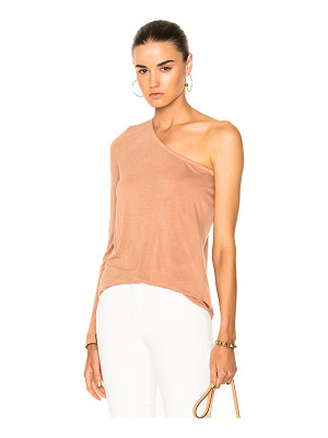 ENZA COSTA One Shoulder Top