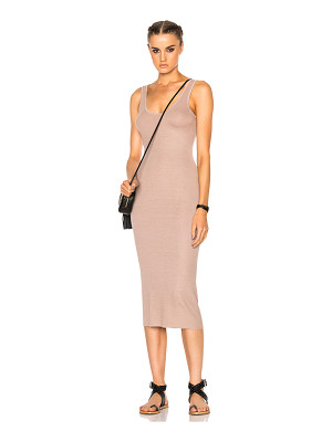 Enza Costa Rib Tank Dress