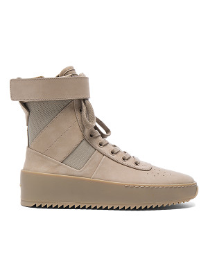 FEAR OF GOD Nubuck Leather Military Sneakers