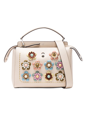 Fendi Flower Embellished Dotcom Bag