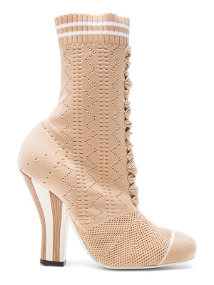 FENDI Knit Booties