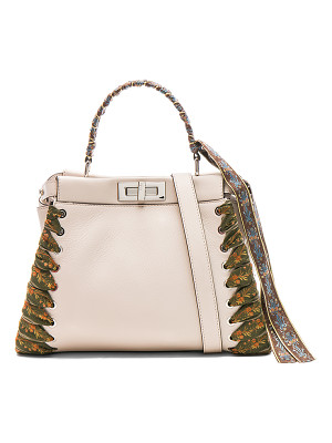 FENDI Ribbon Embellished Regular Peekaboo