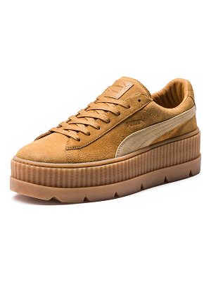 Fenty by Puma Cleated Suede Creeper Sneakers
