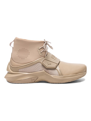 FENTY PUMA BY RIHANNA Leather Trainer Sneakers