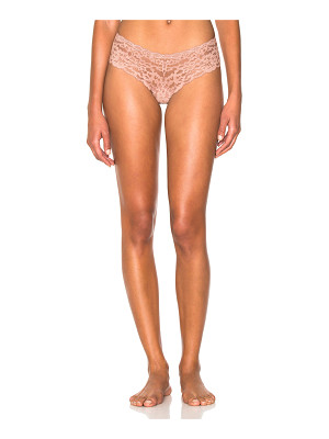 FLEUR DU MAL Charlotte Lace Cheeky Bottom