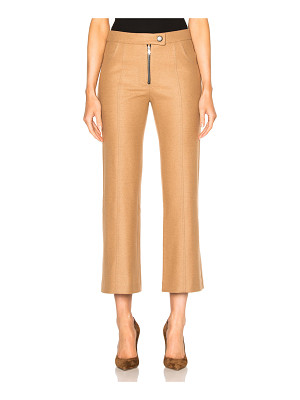 Frankie Cropped Wool Flare Pants