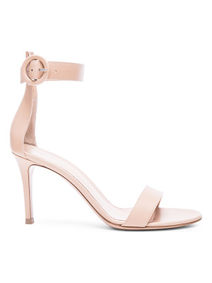 Gianvito Rossi Leather Ankle Strap Heels