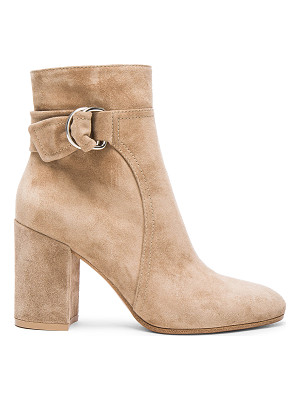 GIANVITO ROSSI Suede Belted Ankle Boots