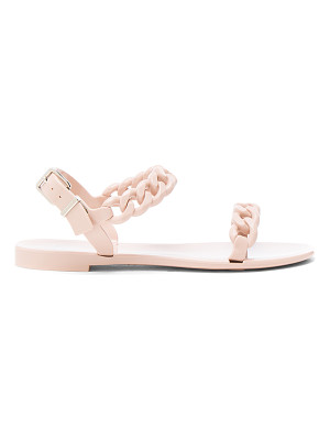 Givenchy Chain Link Jelly Sandals