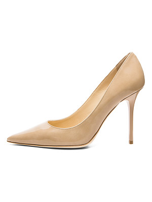 JIMMY CHOO Abel Pointed Patent Leather Pumps