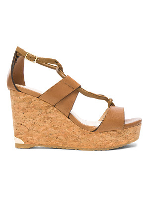Jimmy Choo Leather Nelson Wedges