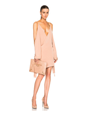 JUAN CARLOS OBANDO Fwrd Exclusive Wrap Mini Necktie Dress