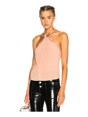 LA PERLA Macrame Poem Top