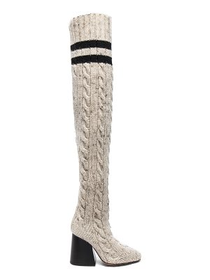 MAISON MARGIELA Knit Knee High Boots