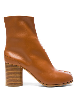 MAISON MARGIELA Leather Split Toe Booties