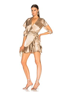 MICHELLE MASON For Fwrd Flutter Wrap Dress