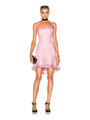 NICHOLAS Bellflower Strapless Mini Dress