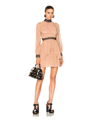 NICHOLAS High Neck Mini Dress