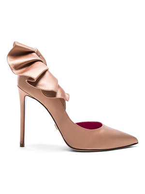 OSCAR TIYE Satin Adele Pumps