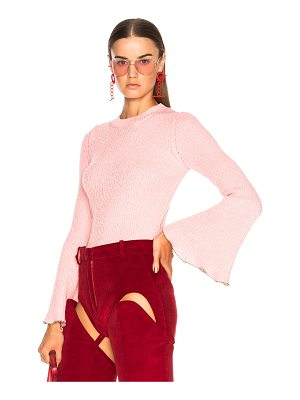 PHILOSOPHY DI LORENZO SERAFINI Bell Sleeve Sweater