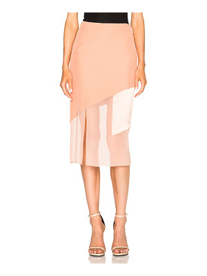 PRABAL GURUNG Charmeuse Skirt