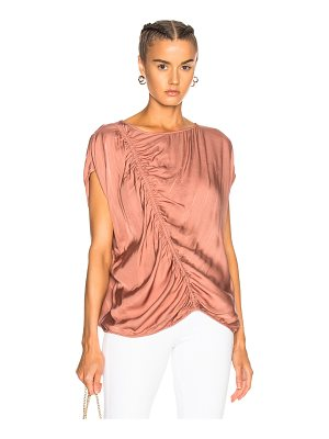 RAQUEL ALLEGRA Gathered Boxy Top
