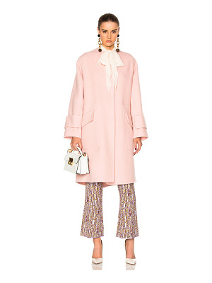 Roksanda Cavani Heavy Felted Wool Coat
